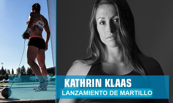 Kathrin Klaas - lanzamiento de martillo