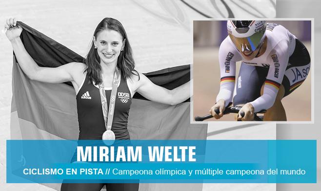 Miriam Welte - ciclismo en pista