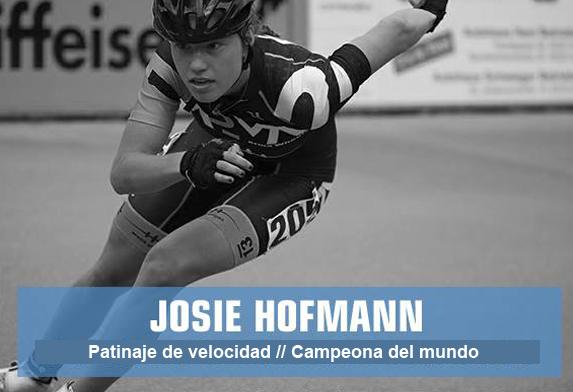 Josie Hofmann - patinaje de velocidad