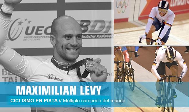 Maximilian Levy - ciclismo en pista