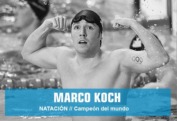 Marco Koch - natación